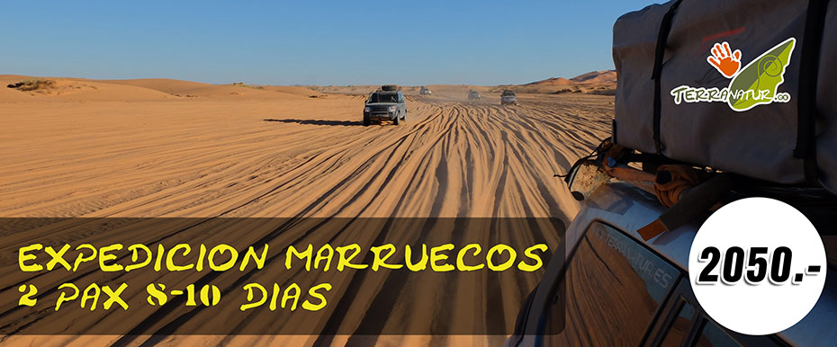 Regala una experiencia inolvidable. Marruecos. Regalo original de Terranatur.